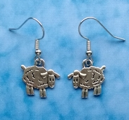 Sheep Earring